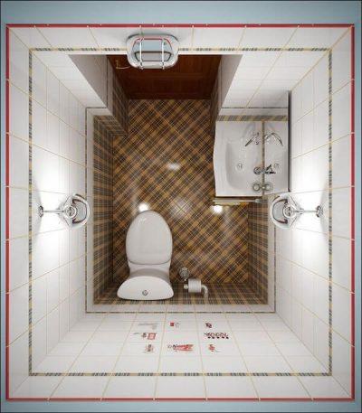 1 2 amenajare baie 3 mp - baie de serviciu 3 baie doar cu toaleta si chiuveta