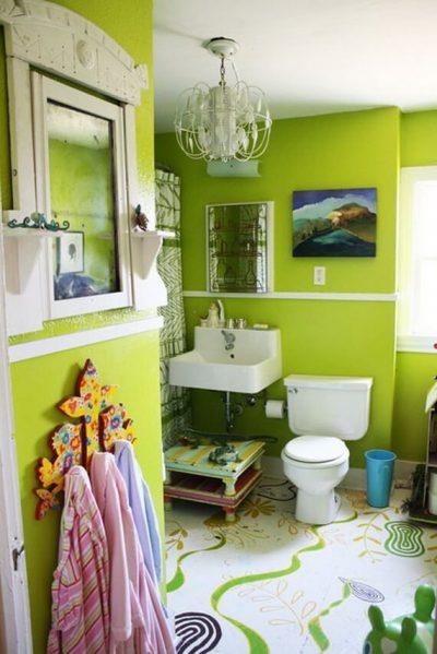 4 5 amenajare baie 3 mp amenajare baie verde 6