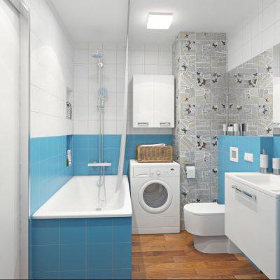 4 6 amenajare baie 3 mp amenajare baie albastra 8