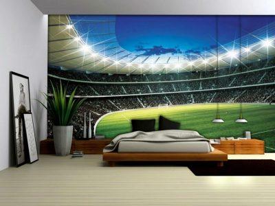 Tapet dormitor 3D Peșteră și Marea 3D (6)