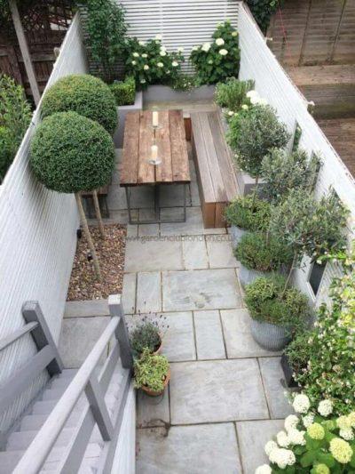 amenajare simpla a gradinilor in spatii mici1