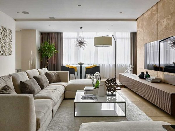 amenajarea unui living de apartament 1