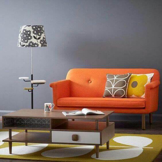 culoare living portocaliu si albastru3