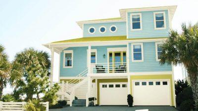 culori casa exterior combinatii alb si albastru 4