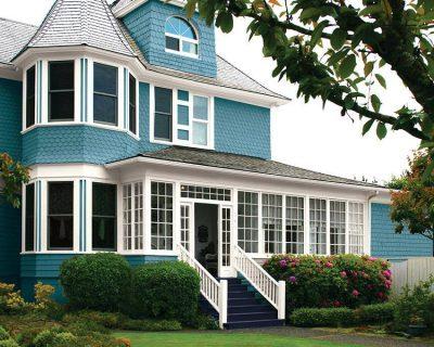 culori casa exterior combinatii alb si albastru 5