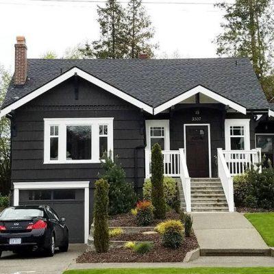 culori casa exterior combinatii alb si negru 2