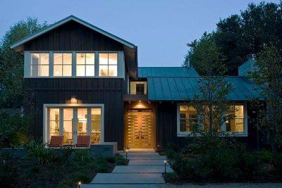 culori casa exterior combinatii alb si negru 3