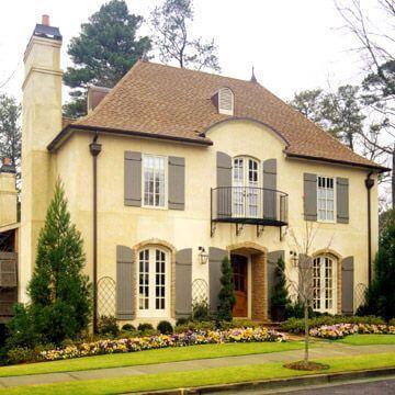 culori casa exterior combinatii galben si maro 1