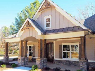 culori casa exterior combinatii galben si maro 5