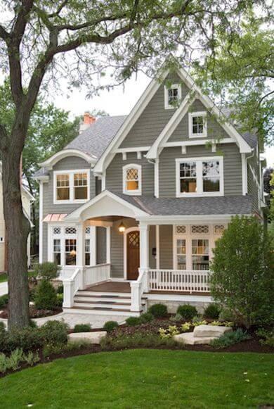 culori casa exterior combinatii gri si alb 2