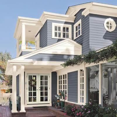 culori casa exterior combinatii gri si alb 4