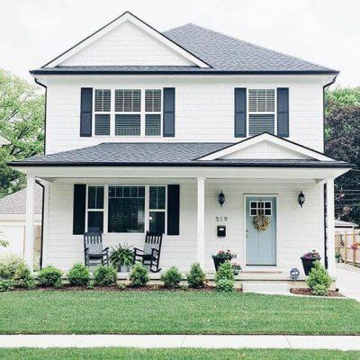 culori casa exterior combinatii gri si alb 7
