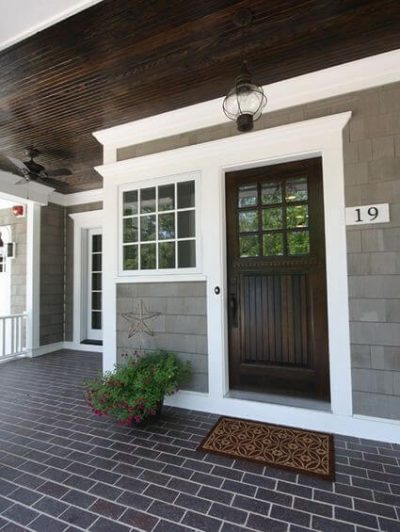 culori casa exterior combinatii gri si maro 5