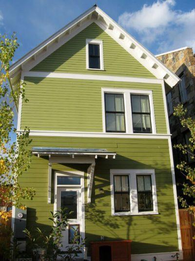 culori casa exterior combinatii verde si alb 4