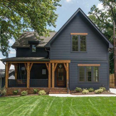 culori casa exterior negru 1
