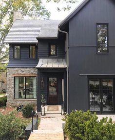 culori casa exterior negru 5
