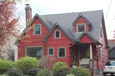 culori casa exterior negru rosu 4