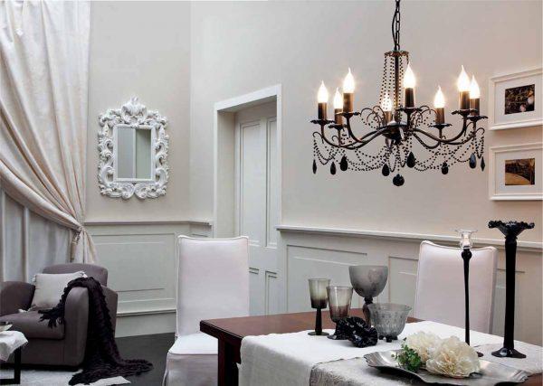 decoratiuni pentru living- candelabru 1