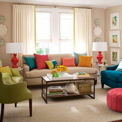 decoratiuni pentru living -perne 2