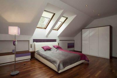 dormitoare moderne la mansarda 2