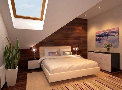 dormitoare moderne la mansarda 3