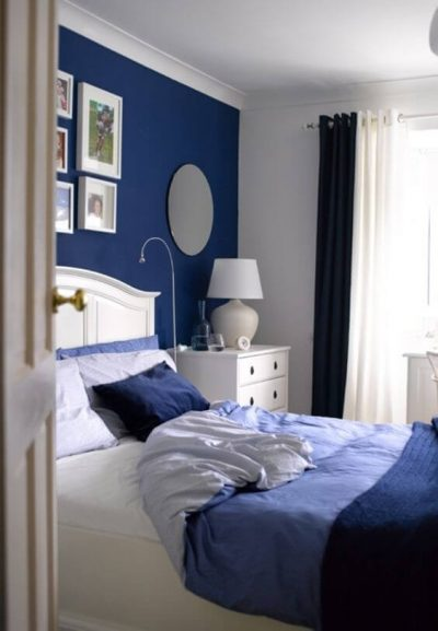 dormitor modern albastru 2