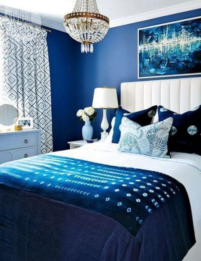 dormitor modern albastru 3
