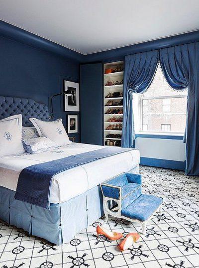 dormitor modern albastru 4