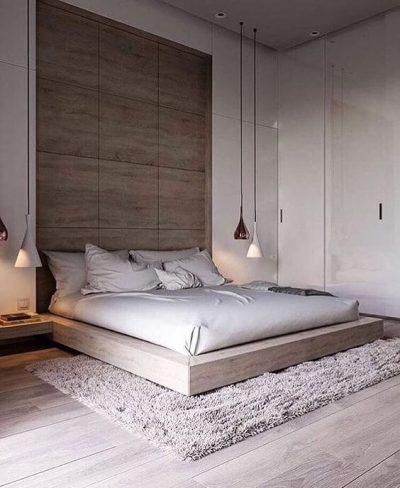 dormitor modern cu lemn 2