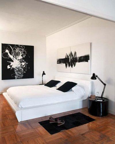 dormitor modern de apartament 3