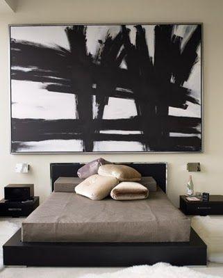 dormitor modern de apartament 4