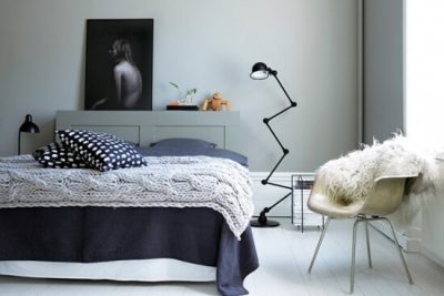 dormitor modern de garsoniera 3