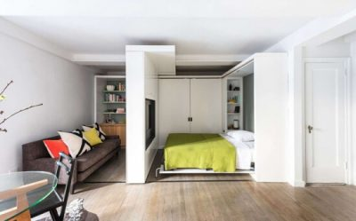 dormitor modern de garsoniera 4