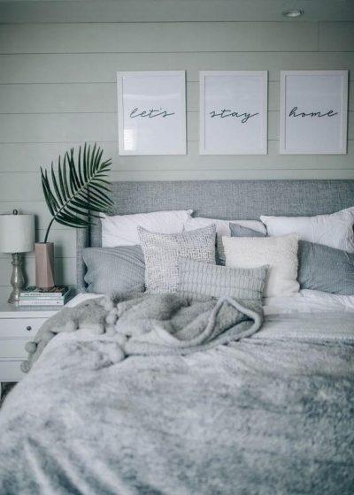 dormitor modern in nuante metalizate de gri 4