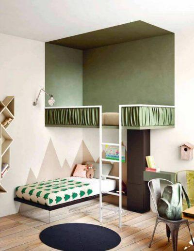 dormitor modern pentru fata si baiat 3