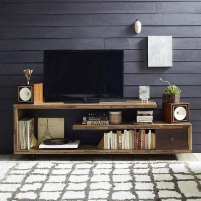 mobila standard pentru un dormitor modern - masa de televizor-comoda 1