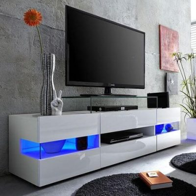 mobila standard pentru un dormitor modern - masa de televizor-comoda 2