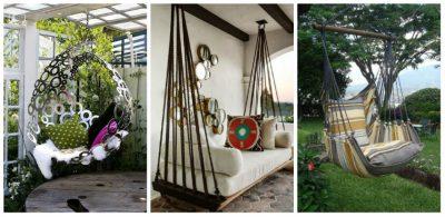 mobilier pentru curtea de la tara - hamac 3