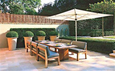 mobilier pentru curtea de la tara - masa si scaune 2