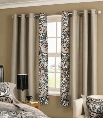 perdele si draperii pentru un dormitor modern 1