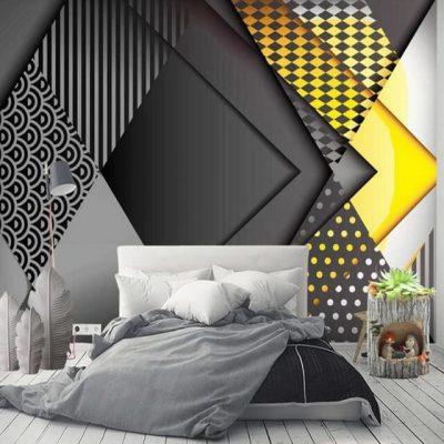 tapet abstract pentru dormitor 1
