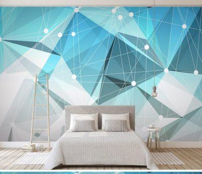tapet abstract pentru dormitor 3