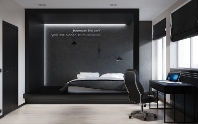 tapet abstract pentru dormitor 4