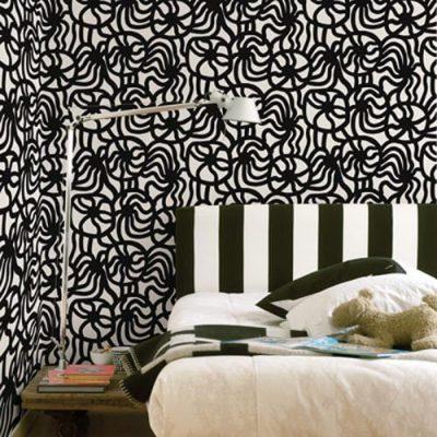 tapet abstract pentru dormitor 5