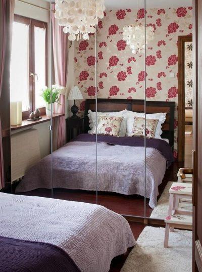 tapet pentru dormitor mic 3