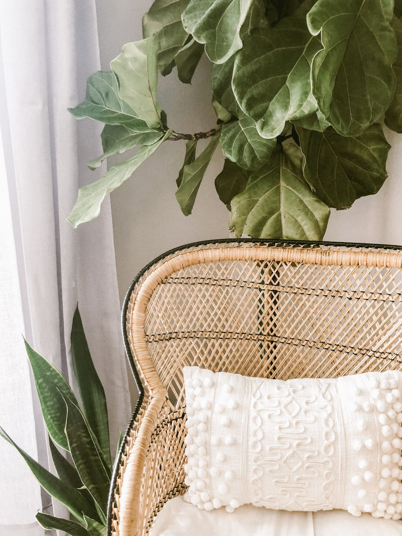 mobilier din ratan canapea