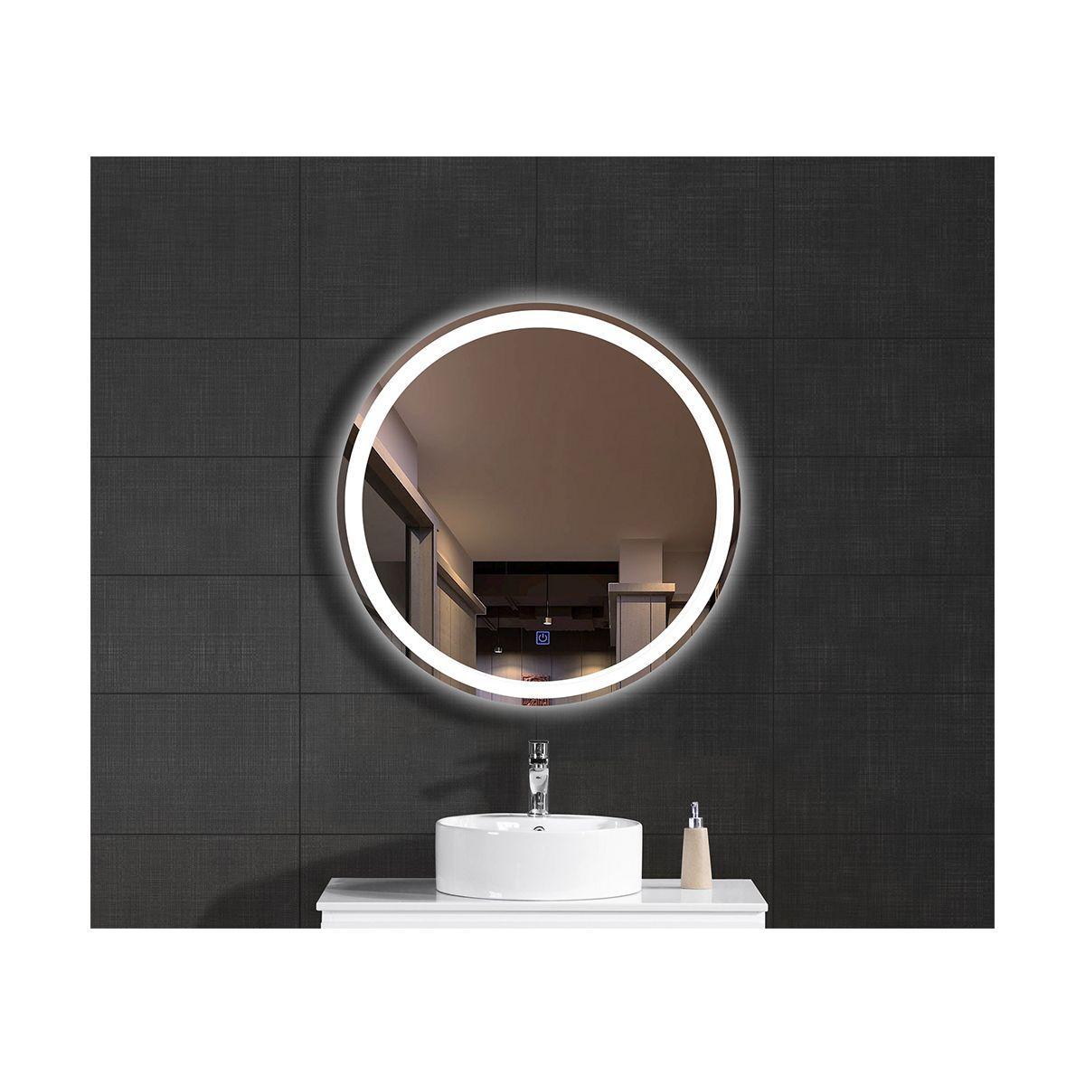 oglinda baie rotunda