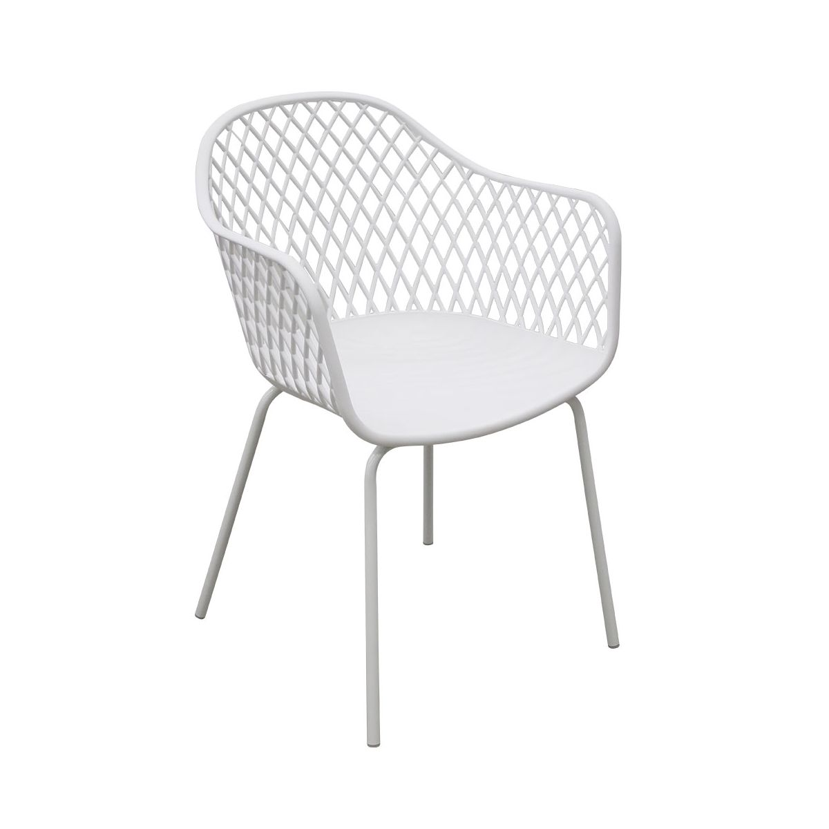 mobila bucatarie scaun swan alb