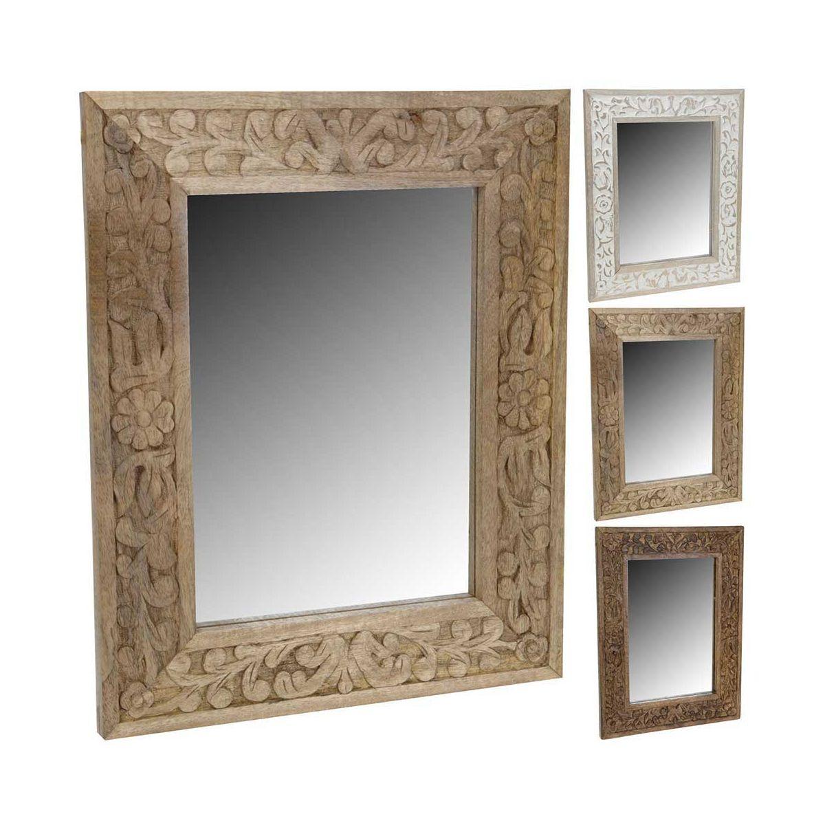 oglinda baie lemn