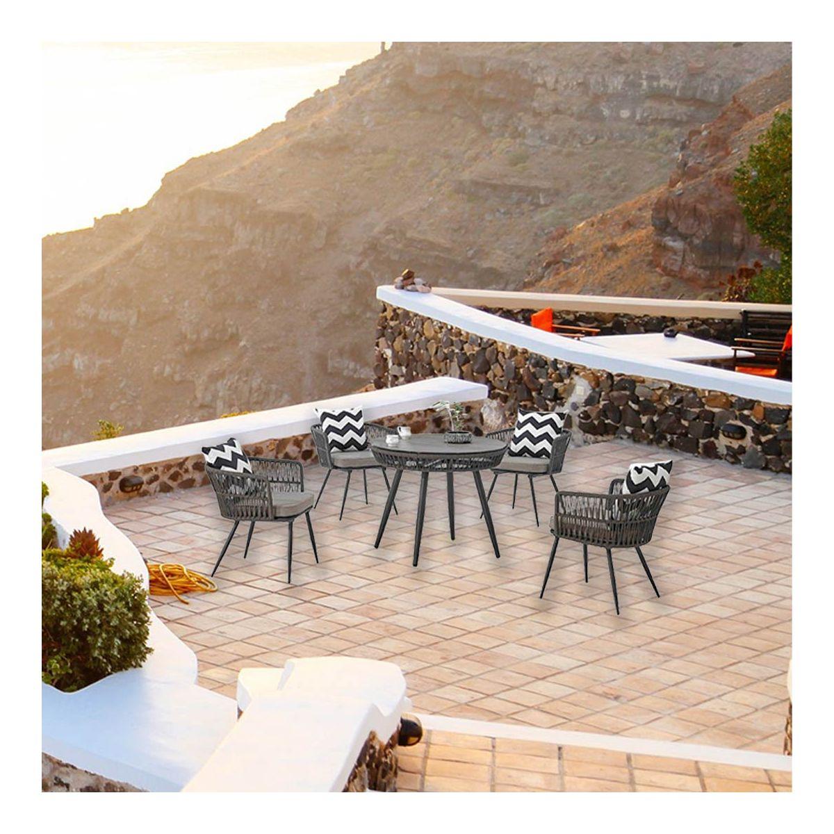 terasa la etaj mobilier exterior